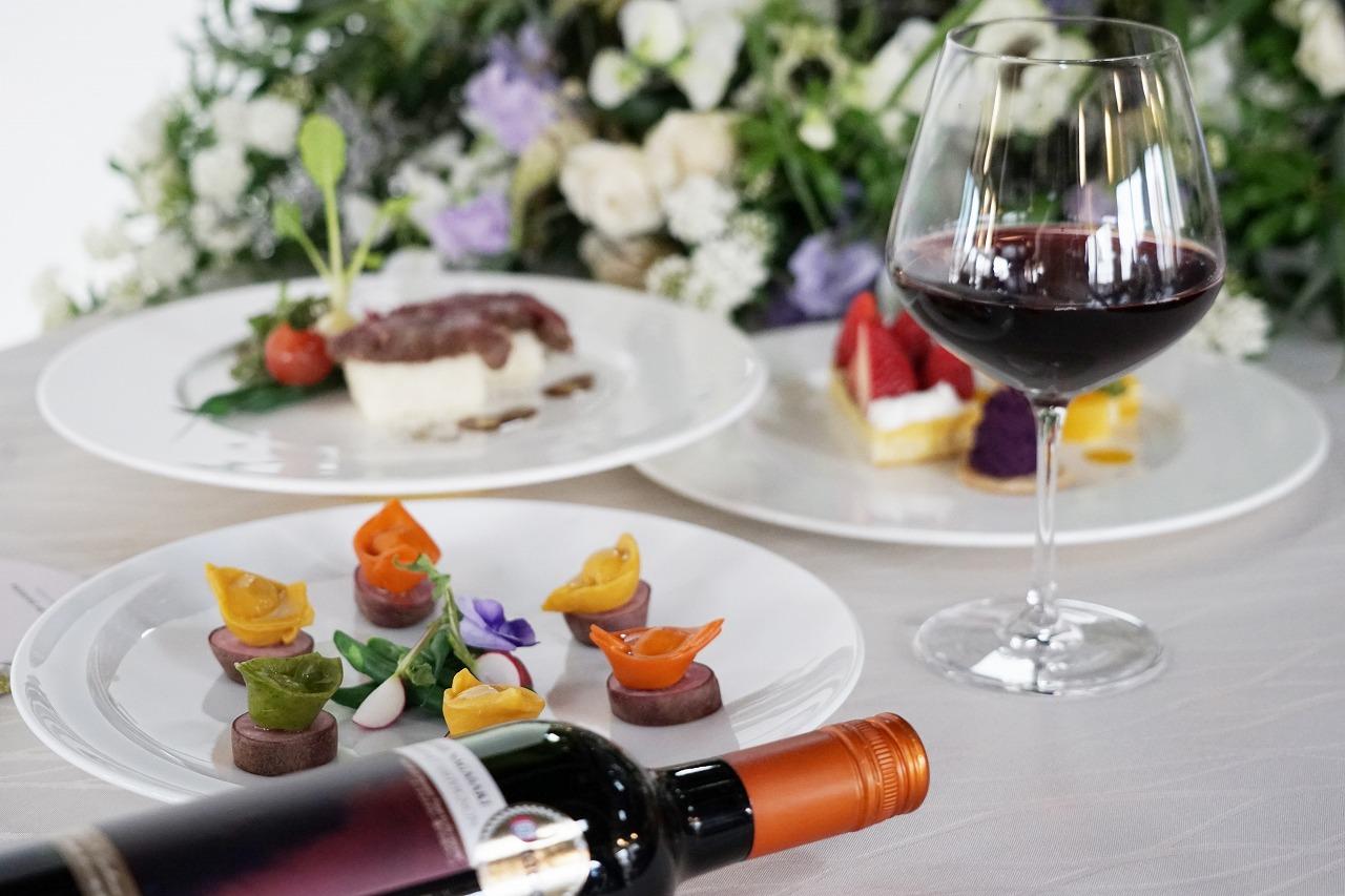 結婚式料理